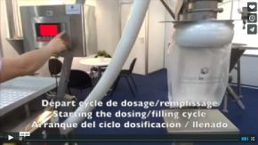 video sugar bag filler